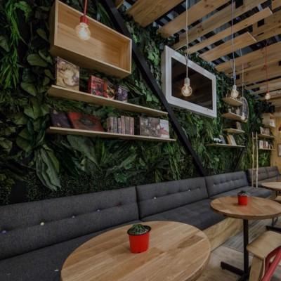Установка систем видеонаблюдения для кафе и ресторана