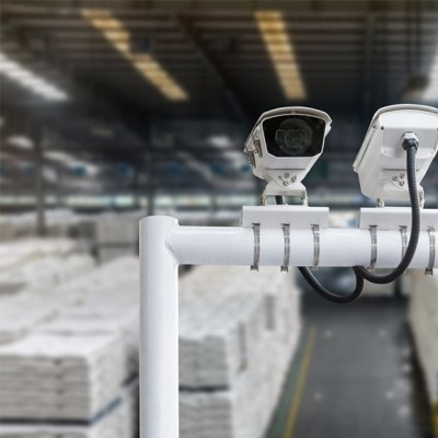 Установка систем видеонаблюдения для склада