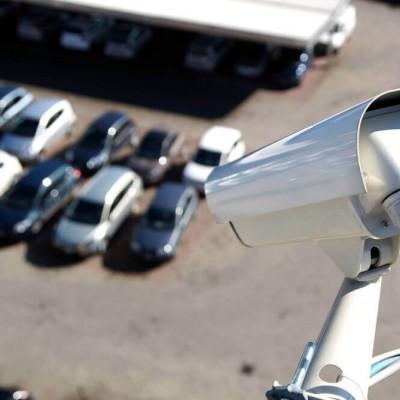 Установка систем видеонаблюдения для автостоянки