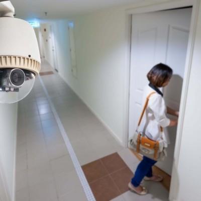 Установка видеонаблюдения для квартиры