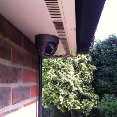 Установка видеонаблюдения для улицы