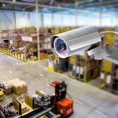 Установка видеонаблюдения для предприятия